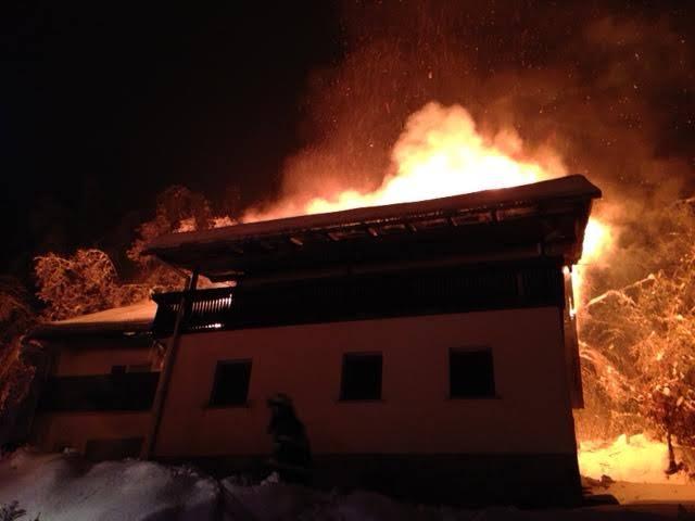 INTERVENCIJA: Požar stanovanjskega objekta 4.2.2014