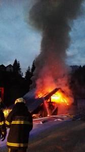 INTERVENCIJA: Požar gospodarskega poslopja Hotovlja 18.9.2015