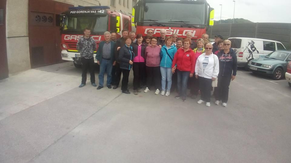 Obiskali so nas veterani PGD Borovnica 6.5.2017