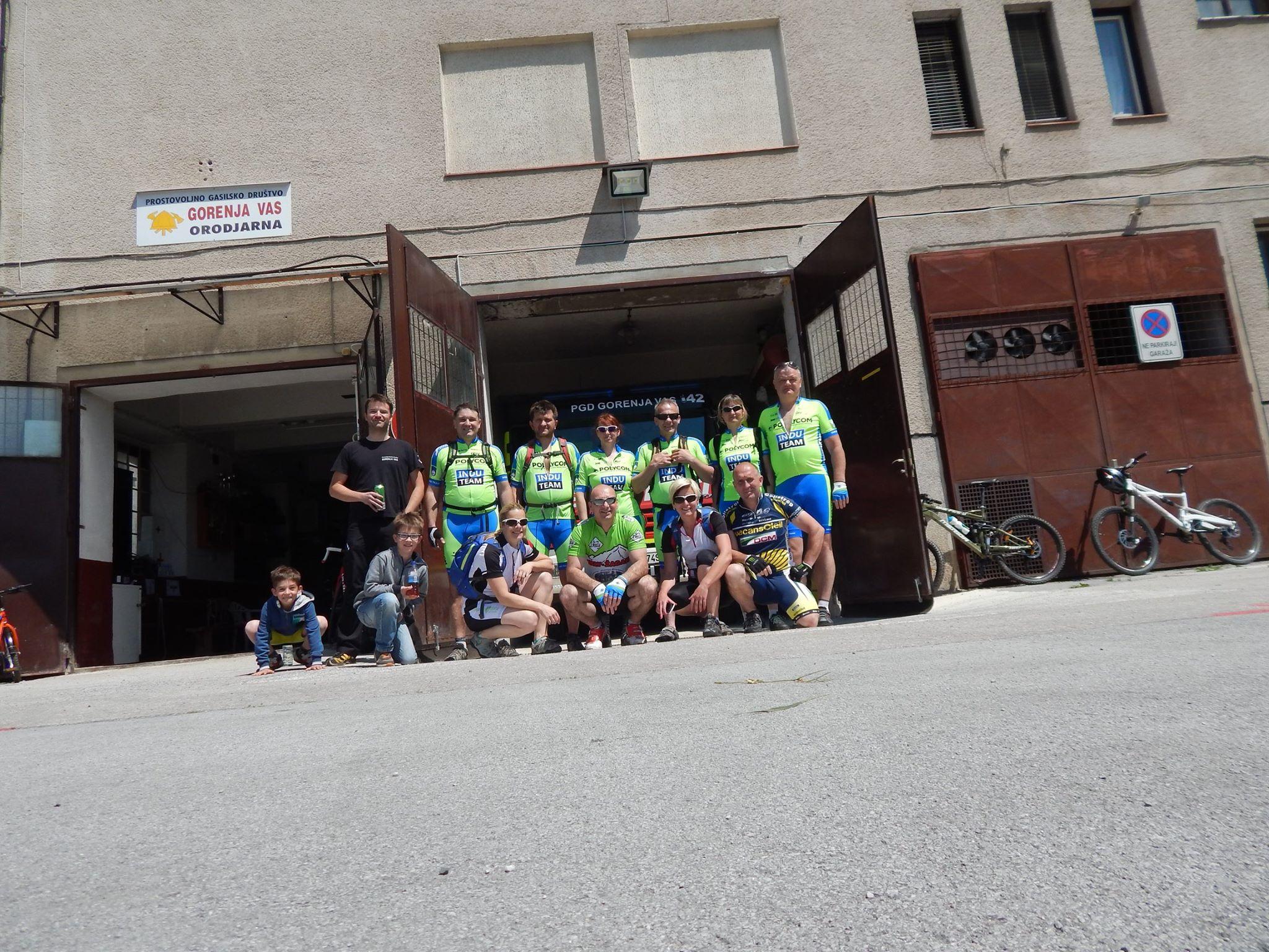 Obiskali so nas kolesarji gasilskega kolesarskega kroga 21.5.2017