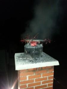 INTERVENCIJA: Dimniški požar Sestranska vas 30.9.2015