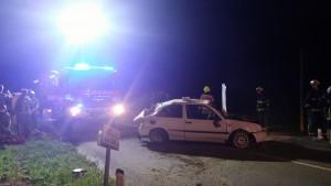 INTERVENCIJA: Prometna nesreča Srednja vas 16.4.2016 (11)