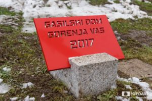 Gasilski dom: Položen temeljni kamen 3.12.2017