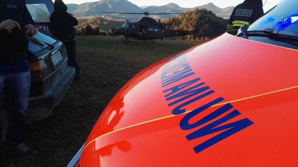 INTERVENCIJA: Reševanje obolelih oseb – Zadobje 27.12.2015