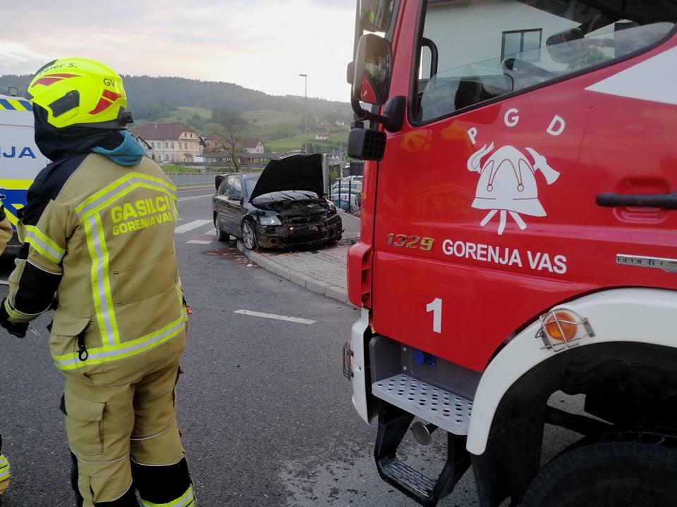 INTERVENCIJA: Prometna nesreča – Gorenja vas 18.5.2018 (8)