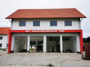 Gradnja gasilskega doma v Juniju 2020