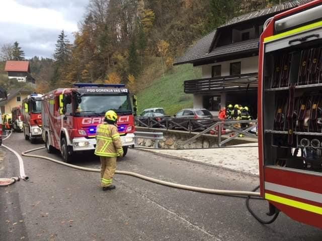 INTERVENCIJA: Požar in eksplozija hiše – Hotovlja – 30.10.2018 (14)