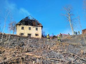 INTERVENCIJA: Travniški požar – Podjelovo Brdo 16.2.2017 (5)