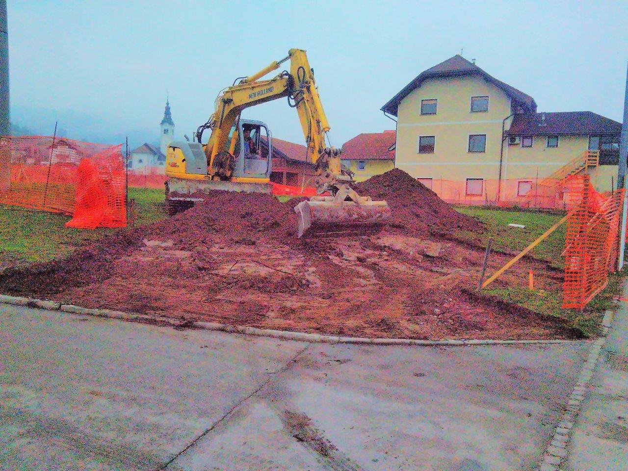 Začelo se je: Pričela se je gradnja težko pričakovanega gasilskega doma! 28.3.2018