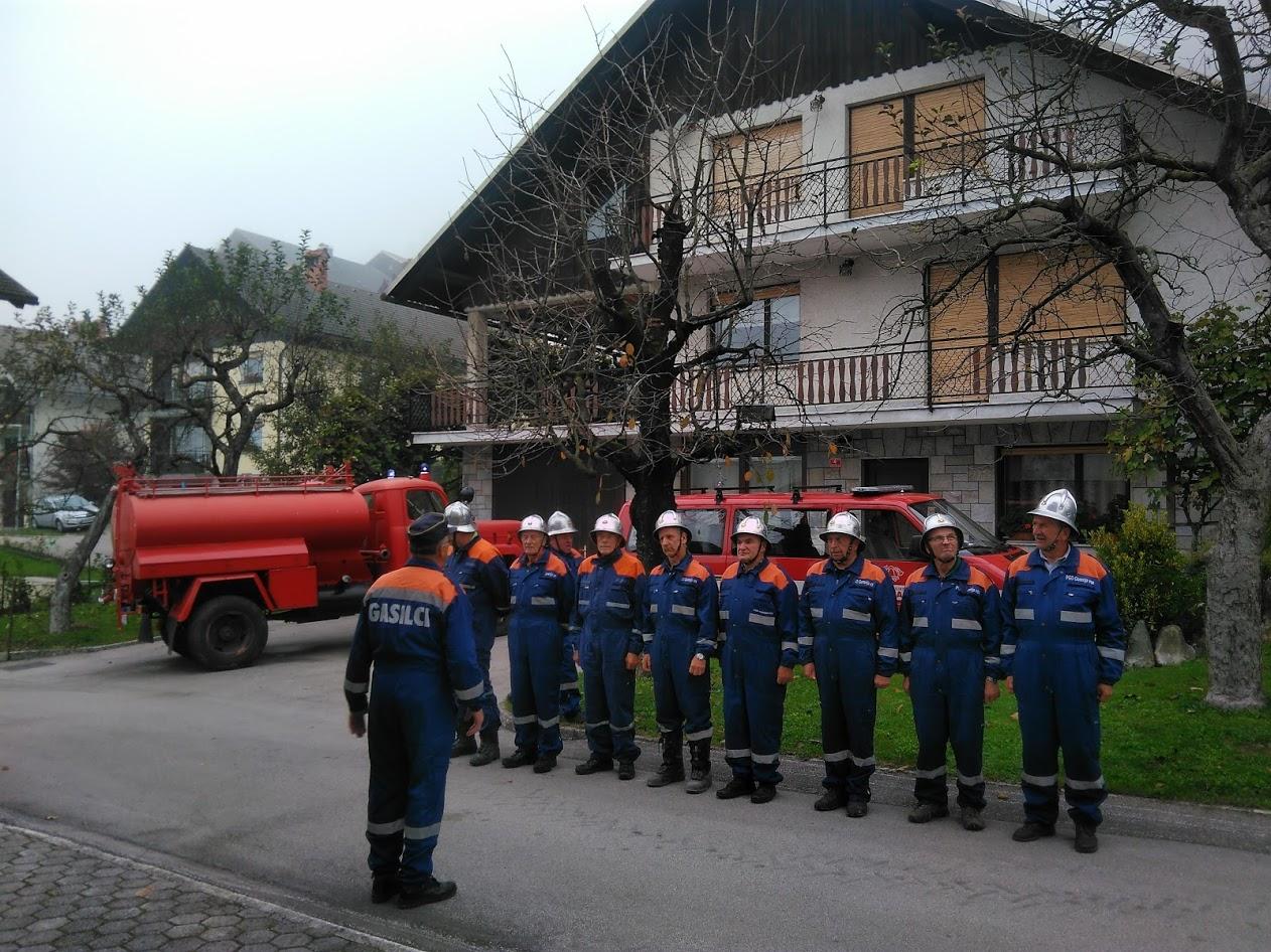 Vaja veteranov: Požar na Gregorčičevi ulici – 13.10.2018