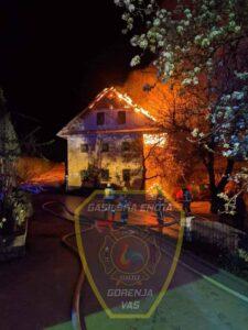 INTERVENCIJA: Požar v stanovanjski stavbi 14.4.2020 (7)