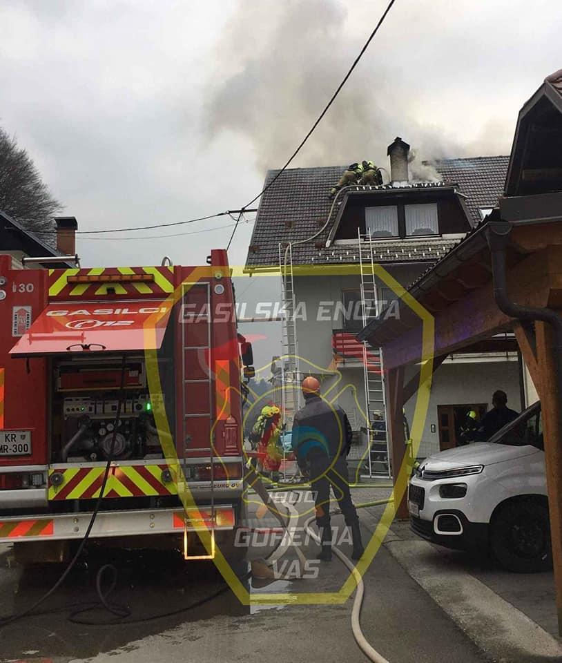 INTERVENCIJA: Požari v stanovanjskih stavbah – 17.2.2020 (4)