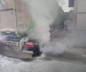INTERVENCIJA: Požari na sredstvih cestnega prometa 13.1.2020 (2)