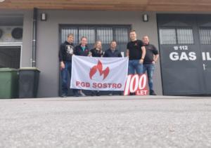 Obisk kolegov PGD Sostro – 17.5.2020