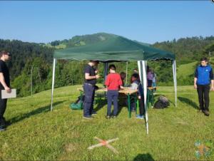 Tekmovanje v orientaciji GZ Škofja Loka – Sovodenj 12.5.2018