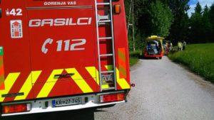 INTERVENCIJA: Nesreče pri športnih aktivnostih – Žirovski vrh – 2.6.2019 (7)