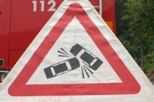 INTERVENCIJA: Prometna nesreča Dolenja Dobrava 17.5.2014